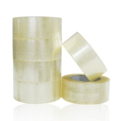 Clear Packing Parcel Tape 48mm x 66m (Large Roll)