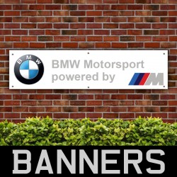 BMW M Power Motorsport PVC Banner