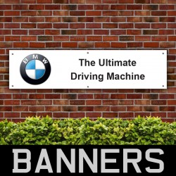 BMW The Ultimate Driving Machine PVC Banner