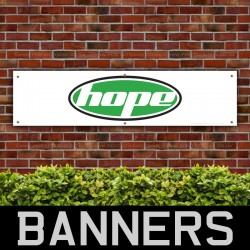 Hope Bicycle PVC Banner