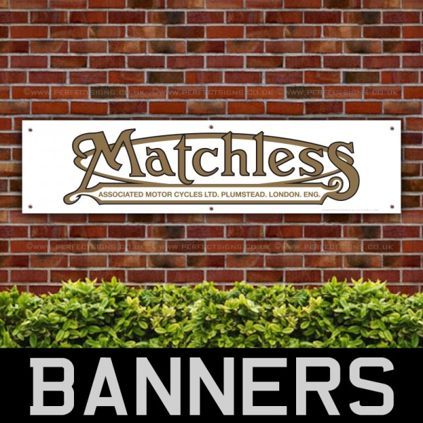Matchless Motorcycles PVC Banner
