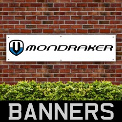 Mondraker Bicycles PVC Banner
