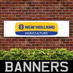 New Holland Agriculture PVC Banner