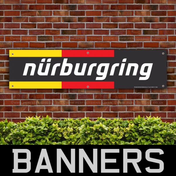 Nurburgring German Flag PVC Banner
