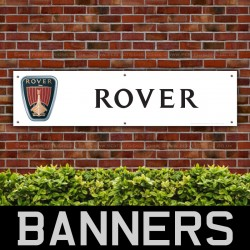 Rover Cars PVC Banner