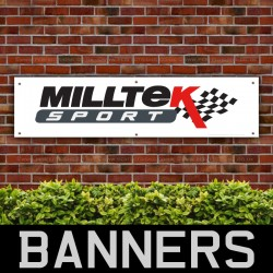 Milltek Sport Performance Racing PVC Banner