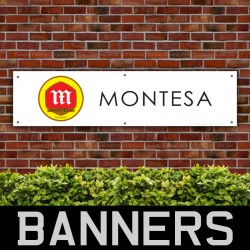 Montesa Motorcycles Trials PVC Banner