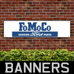 FoMoCo Genuine Ford Parts PVC Banner