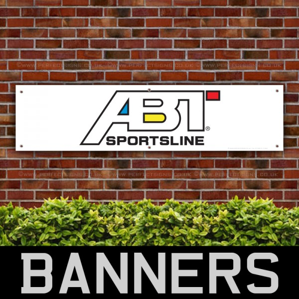 ABT Sportsline Racing & Auto Tuning PVC Banner