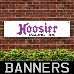 Hoosier Racing Tire PVC Banner