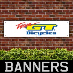 Team GT Bicycles PVC Banner