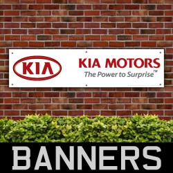 KIA Motors The Power To Surprise PVC Banner