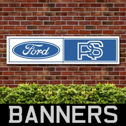 Ford RS PVC Banner