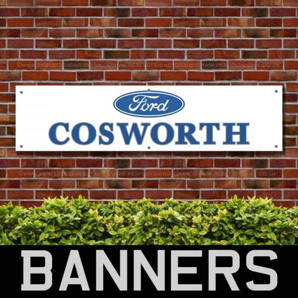 Ford Cosworth PVC Banner