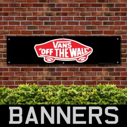 Vans Off The Wall PVC Banner