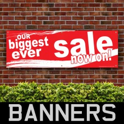Biggest Sale PVC Banner