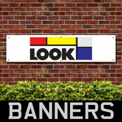 Look Mountain Bike PVC Banner