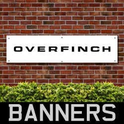 Overfinch Landrover PVC Banner
