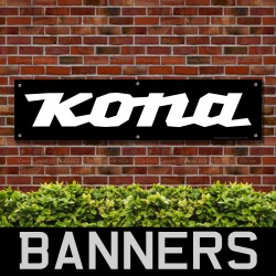 KONA Mountain Bike PVC Banner