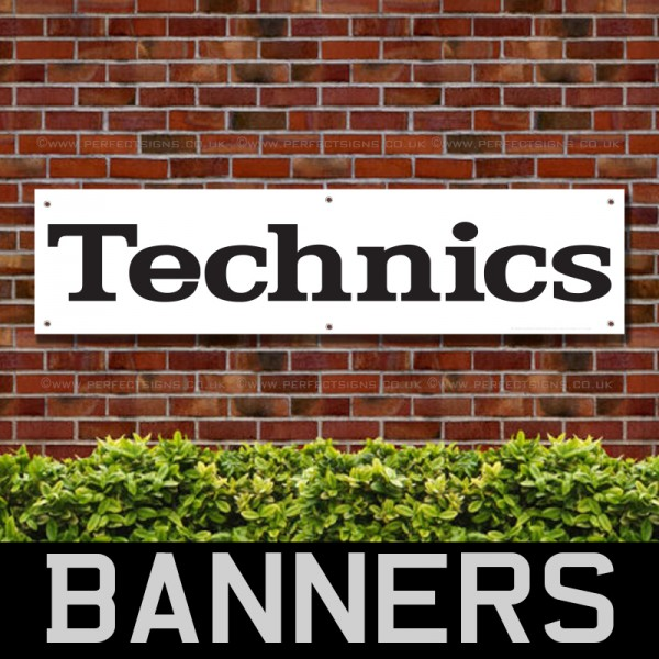 Technics Audio Equipments PVC Banner