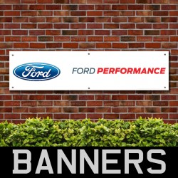 Ford Performance PVC Banner