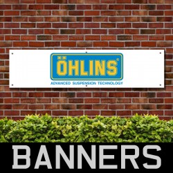 Ohlins Suspension Technology PVC Banner