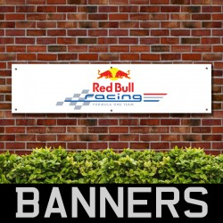Redbull Racing Formula One Team PVC Banner