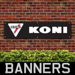 Koni Suspension PVC Banner