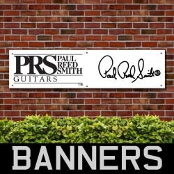 Paul Reed Smith Guitars PVC Banner