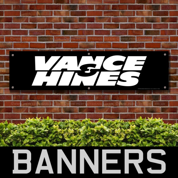 Vance and Hines PVC Banner
