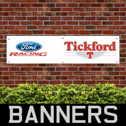 Tickford Ford Racing PVC Banner