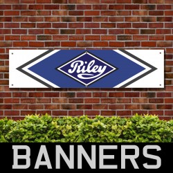 Riley Touring PVC Banner