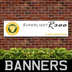 Caterham Superlight R300 PVC Banner