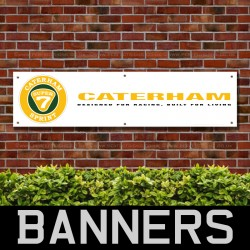Caterham Super Seven Sprint Racing PVC Banner
