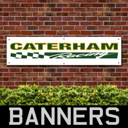 Caterham Racing PVC Banner