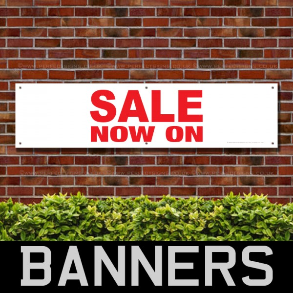 Sale Now On Large PVC Banner