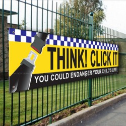 Think Click It PVC Banner