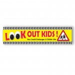 Look Out Kids Road Safety Banner