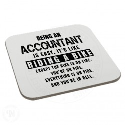 Being An Accountant is Easy It is Like Riding a Bike Coaster