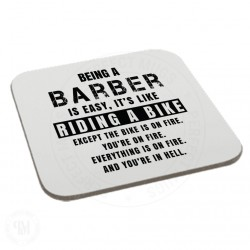 Being a Barber is Easy It is Like Riding a Bike Coaster