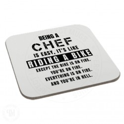 Being a Chef is Easy It is Like Riding a Bike Coaster