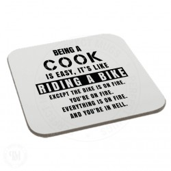 Being a Cook is Easy It is Like Riding a Bike Coaster