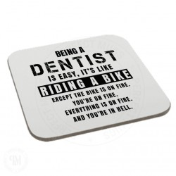 Being a Dentist is Easy It is Like Riding a Bike Coaster