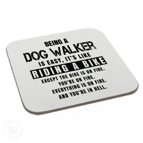 Being a Dog Walker is Easy It is Like Riding a Bike Coaster