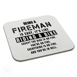 Being a Fireman is Easy It is Like Riding a Bike Coaster