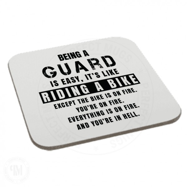 Being a Guard is Easy It is Like Riding a Bike Coaster