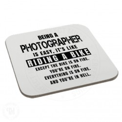 Being a Photographer is Easy It is Like Riding a Bike Coaster