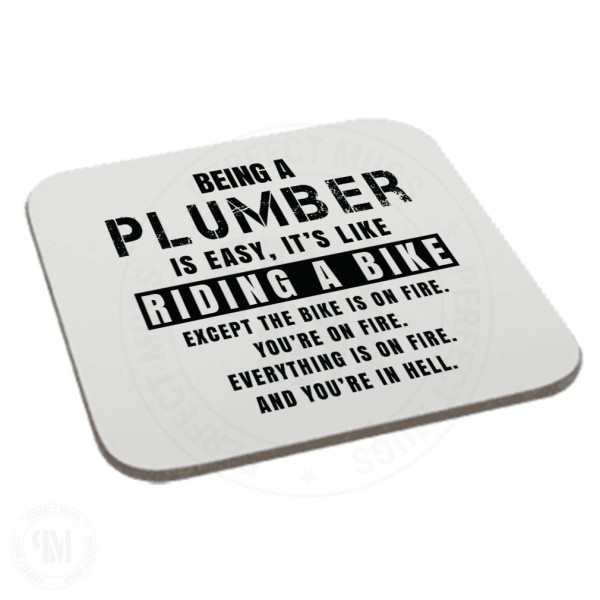 Being a Plumber is Easy It is Like Riding a Bike Coaster
