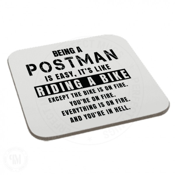 Being a Postman is Easy It is Like Riding a Bike Coaster