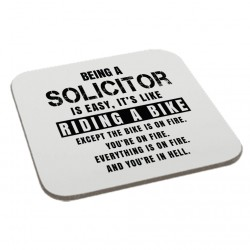 Being a Solicitor is Easy It is Like Riding a Bike Coaster